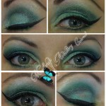green eye makeup artist cairns