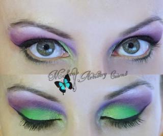 Cairns Makeup Artist Green Eye Makeup Looks