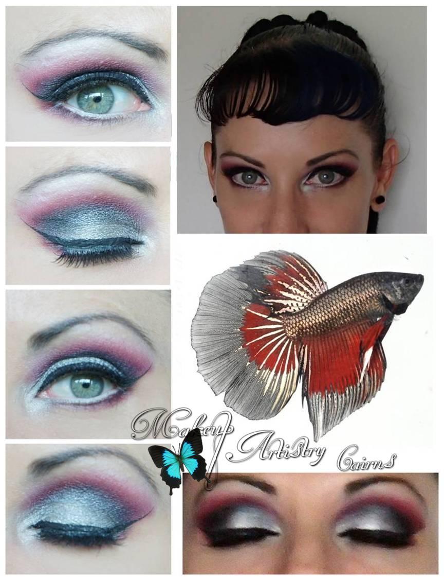 Rainbow Fish Makeup Fish Makeup fi Rainbow
