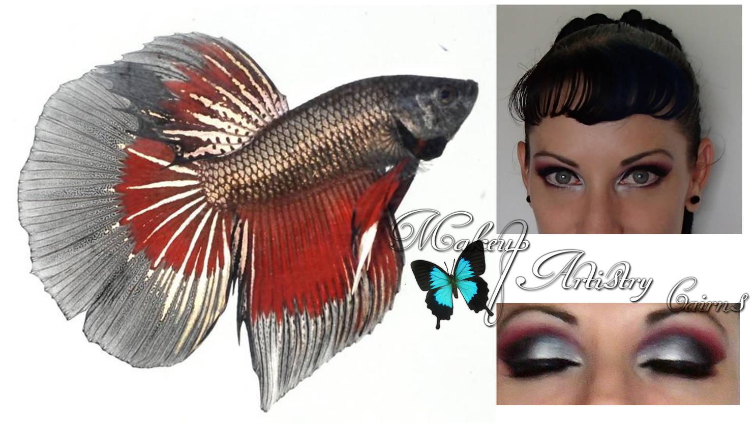 Inspirational Eye Makeup Looks From Nature Cairns Hair And Makeup