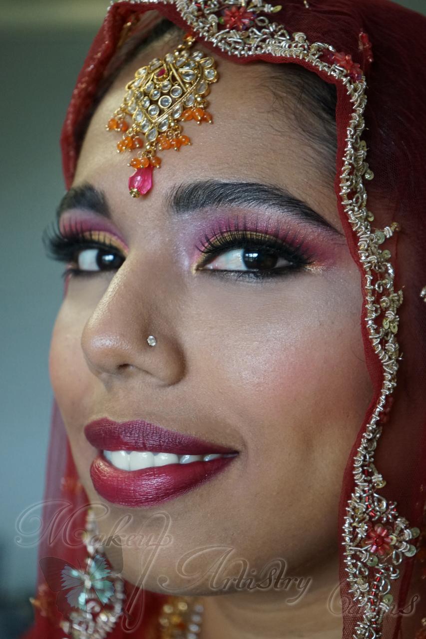 Cairns Wedding Makeup Hindu Bridal