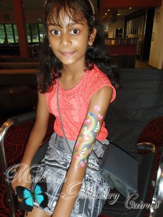 kids face painter cairns makeup artist