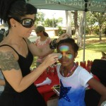 face painting cairns