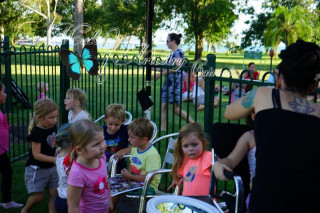 kids face painter cairns