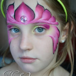 Fairy face paint ~ kids face painting ~ cairns makeup artist