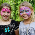 kids face painting ~ cairns makeup artist ~ fairy face paint