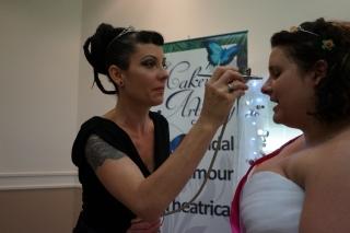 Makeup Artist Cairns Wedding Expo 2015