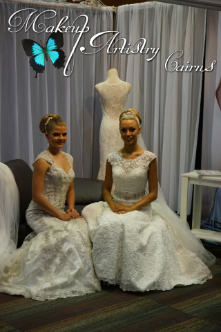 Models Wearing Dresses by Jovinia ~ Makeup by Danielle ~ Cairns Makeup Artist at the Wedding and Formal Expo 2015