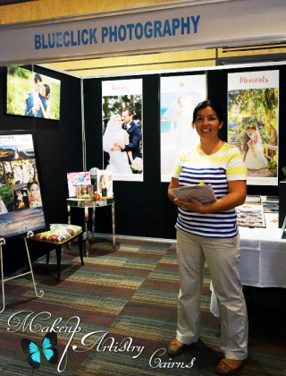 Blueclick Photography at the Wedding and Formal Expo 2015 Makeup Artistry Cairns