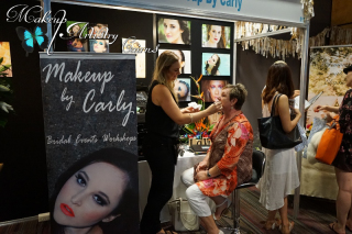 Makeup by Carly at the Wedding and Formal Expo 2015 Makeup Artistry Cairns