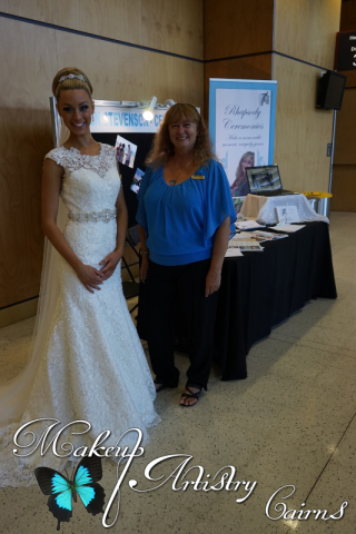Wedding and Formal Expo 2015 Makeup Artist Cairns