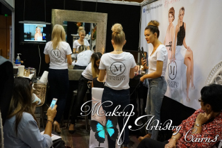 Ministry of Makeup and Hair at the Wedding and Formal Expo 2015