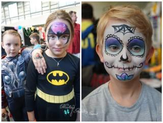 Cairns Tropicon 2015 Makeup Artist Face Painter