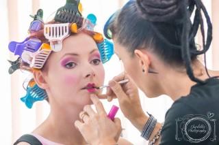 Cairns Beauty School Editorial Makeup Demonstration