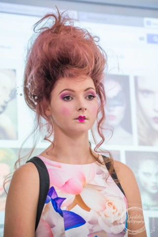 Cairns Beauty School Editorial Makeup Demonstration