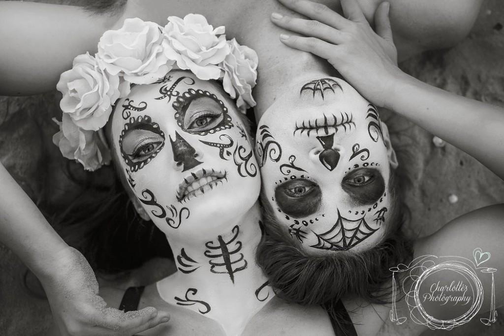 Día de Muertos Makeup