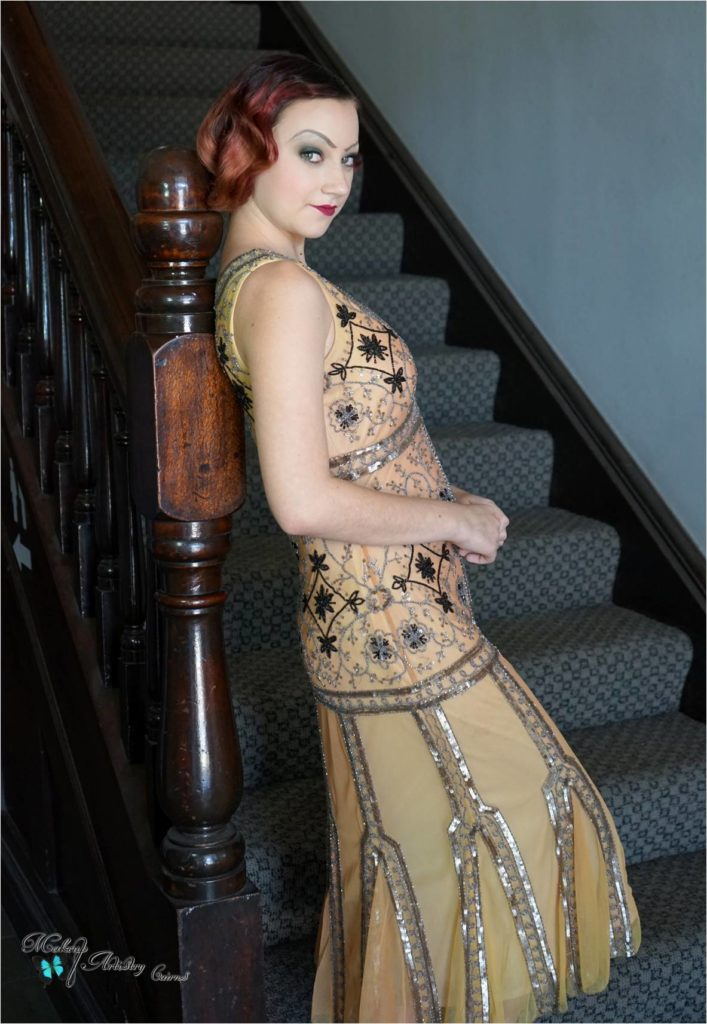 cairns premier hair and makeup artist dana harris 1920's portfolio creation