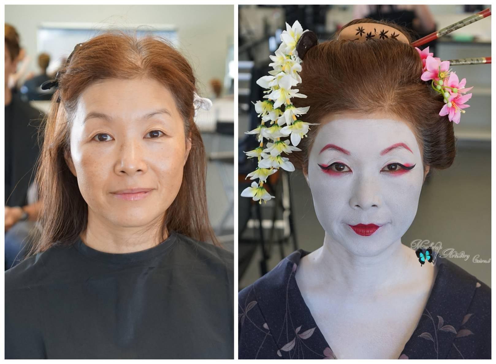 Hair And Makeup Artistry: History Of Makeup Japan Geisha