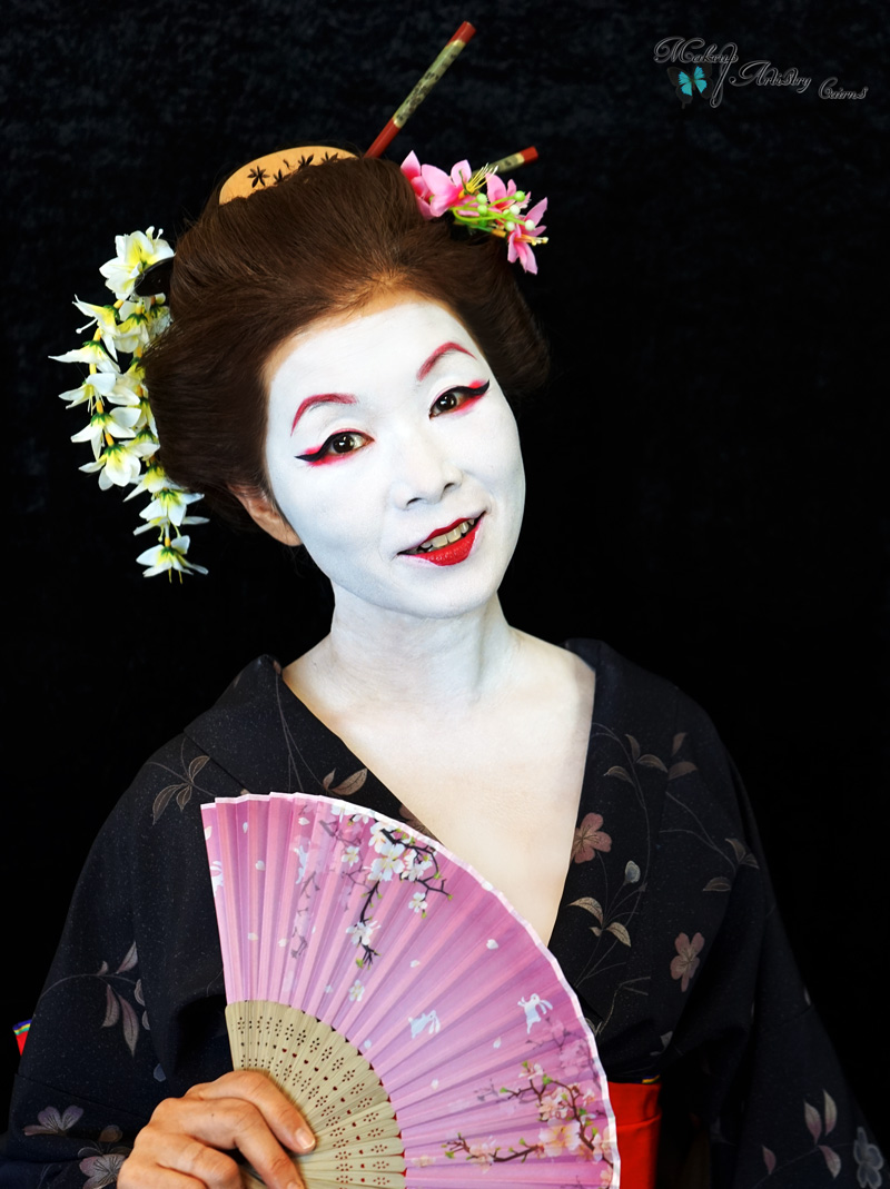 History Of Makeup Japan Geisha Cairns Hair And Makeup