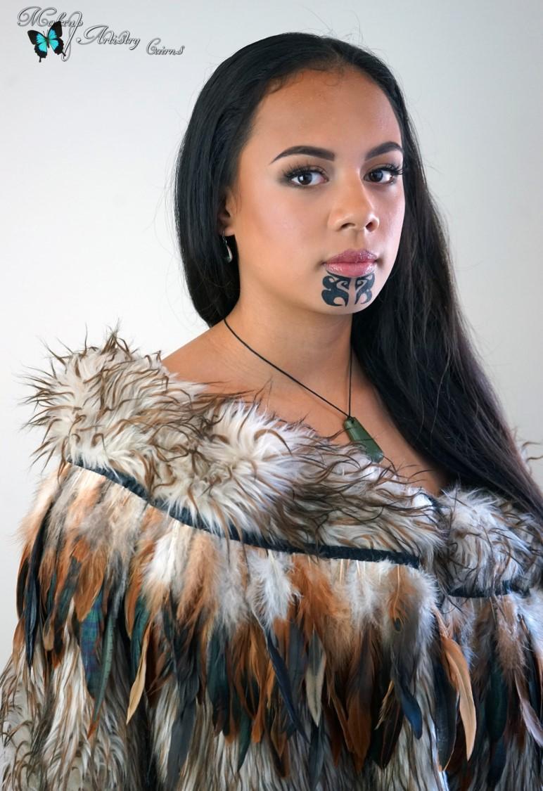 Maori Face Tattoo Designs Women: Ta Moko Traditional Maori Tattoo