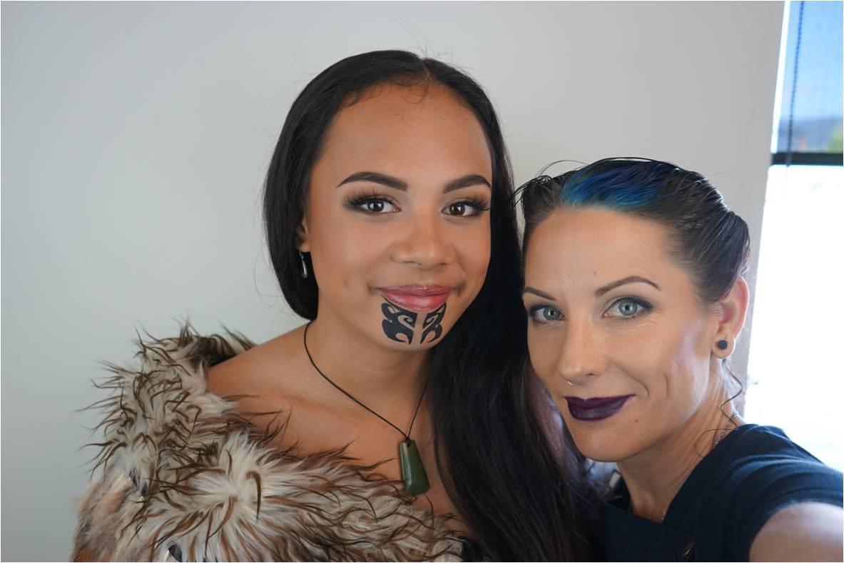 Hair And Makeup Artistry: Ta Moko Traditional Maori Tattoo
